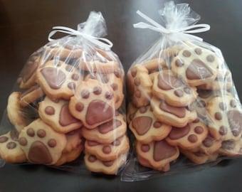 Mini Paw Print Cookies (4 dozen)