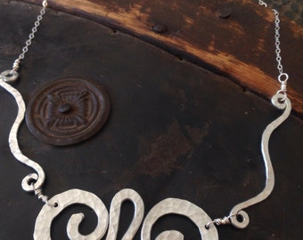 Swirls All Around Necklace
