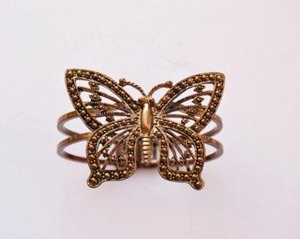 BUTTERFLY. Vintage Bracelet