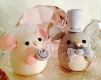 Cake toppers ( Chinchilla, Bunny, Bird, Bear etc..)