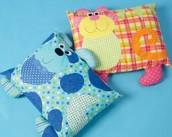 Ellie Mae Desgins 171 Pillow Pals Sewing Pattern