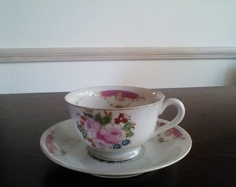 Vintage Occupied Japan Tea cup and saucer.   #55