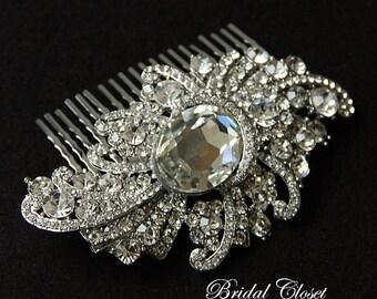 Bridal Comb, Rhinestone Comb, Crystal Bridal Comb, Wedding Crystal Hair Comb, Hair Comb, Wedding Comb, Bridal Headpiece, Bridal Comb