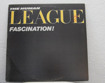 "The Human League - ""Fascination!"" vinyl record (NT)"