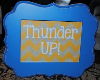 OKC Thunder UP! Frame 5 X 7  Oklahoma City Thunder