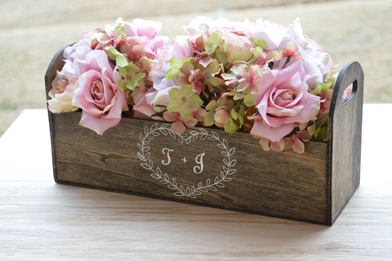 Rustic Wedding Centerpiece Laurel Wreath Centerpiece