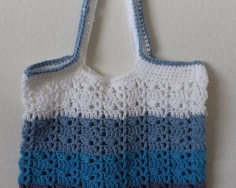 Crocheted Ombre Tote