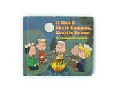 It Was a Short Summer, Charlie Brown, First Edition, 1970, green, blue