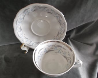 Vintage Favolina Fine China Cup and Saucer made in Poland