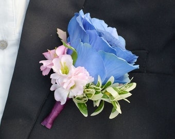 wedding boutonniere artificial flower rose