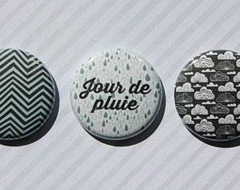 "3 badges 1 ""rainy day"