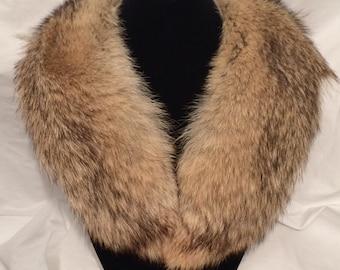 Genuine Coyote Fur Collar