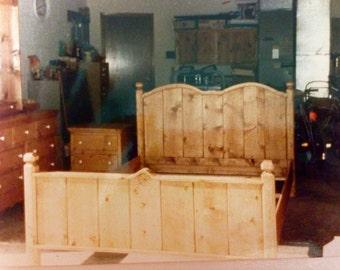 Rustic Chic Queen Bed