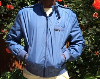 Vintage Men's Blue Members Only Jacket