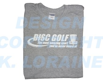 Disc Golf, The Most Amazing Sport You've Never Heard Of - Sport Gray - 50 Cotton / 50 Poly