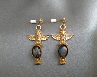 Vintage Pierced Earrings,Vintage Jewelry