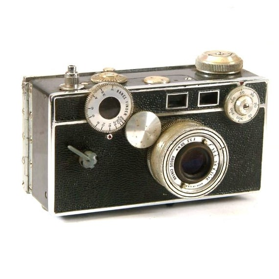 vintage argus c3 35mm rangefinder camera and lens. Black Bedroom Furniture Sets. Home Design Ideas