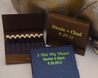 250 of the 30-Strike Personalized Matchbooks - 0.75 each