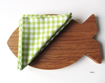 Napkins cloth placemats napkins 2 pieces Set of 2 Green