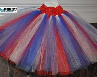 Patriotic Tutu Skirt - Ready To Ship