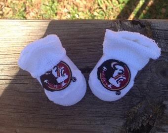 Fsu baby booties