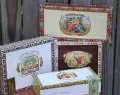 Cigar Boxes - Colorful Paper