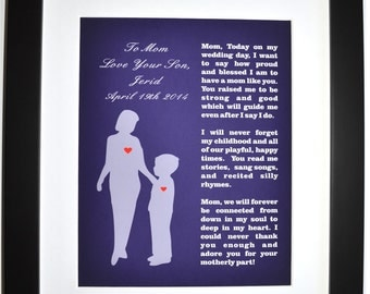 Wedding Gift From Mom To Son : Mother Of The Groom Gift From Son: Wedding Thank You Gifts ...