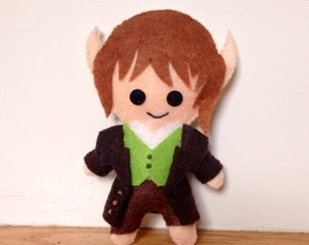 Bilbo Baggins Felt Plushie