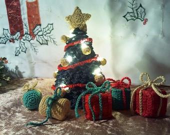 DEUTSCHE PDF Häkelanleitung Weihnachtsbaum