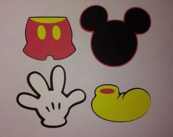 Revered image for mickey mouse printable cutouts