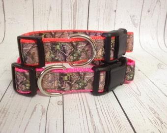 Mossy Oak Dog Collar
