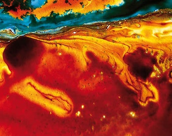 Abstract Earth Art Magnets 1016