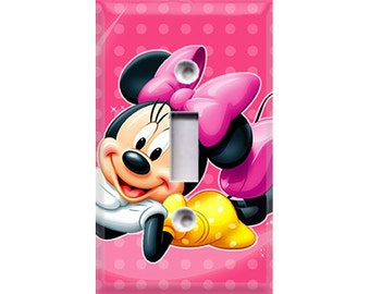 Minnie Mouse Light Switch Cover