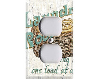 Laundry Room Style 2 Outlet Cover
