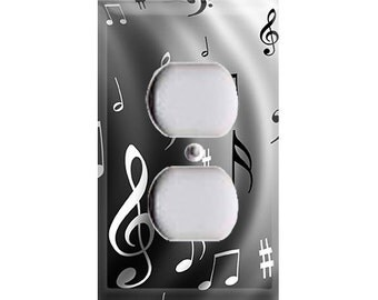 Music Notes Outlet Cover