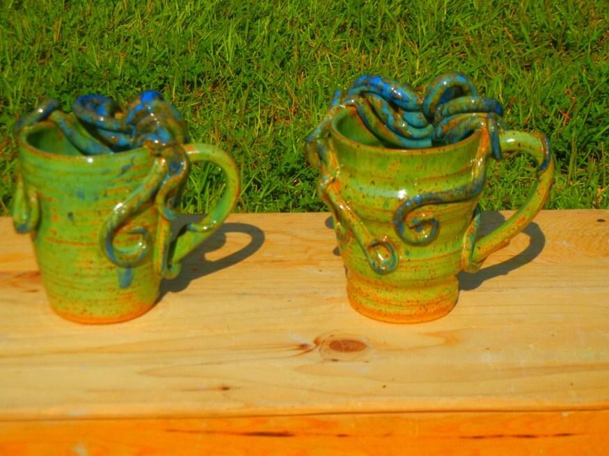 Octopus Mug Stoneware