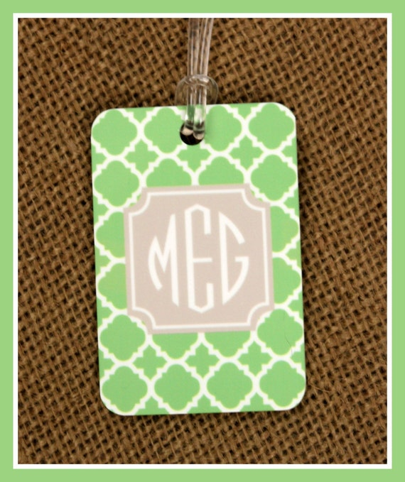 Bag Tags Monogrammed Gifts Gym Bag Duffle Suitcase Custom Gifts Luggage Tags Personalized Custom Gifts Bridal Party Bridesmaids Groomsmen