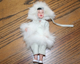 Eskimo Doll, Moveable Arms