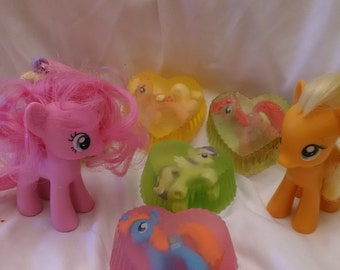 MY Little Pony Soap Fun Kids Soap with Figurine MLP **SALE**