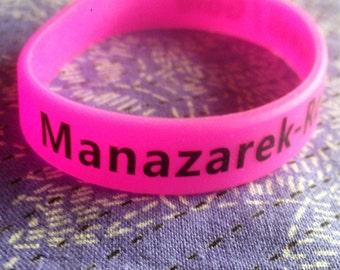 Ray Manazarek VIP Silicone Wrist Bands