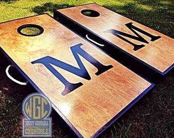 BIG LETTER Only!! Custom Cornhole Board Sets