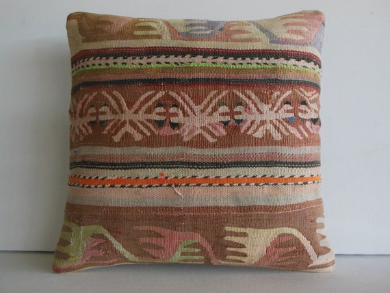 pillow cover 20 Extra Large ethnic decor by DECOLICKILIMPILLOWS