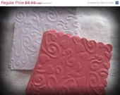 6 Mini Embossed Gift Cards in Pink