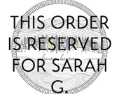 Custom Order Reserved for Sarah G. - Custom Portrait - Watercolor Illustration - Individual or a Couple