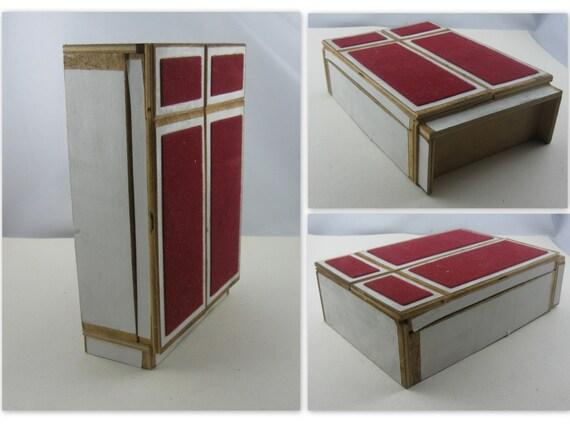 50% OFF 60s 70s dollhouse furniture cabinet wardrobe