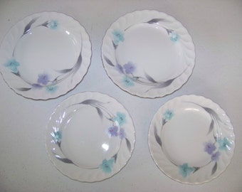 Tatung Special White Set Of Two Dinner & Two Salad Plates