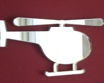 Helicopter Shaped Mirrors - 5 Sizes Available