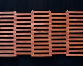 Reclaimed Wood Doormat Rectangle, Wooden Patio Door Mat, Rugged Yet Elegant Decor, Perfect Gift for Home