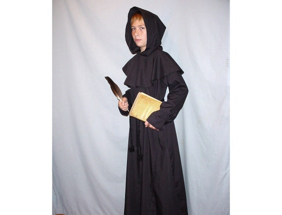 Sz 4-6 Custom Saint Benedict Monk Costume For All Saints Day