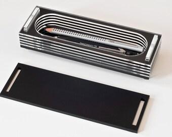 Black Pencil Box